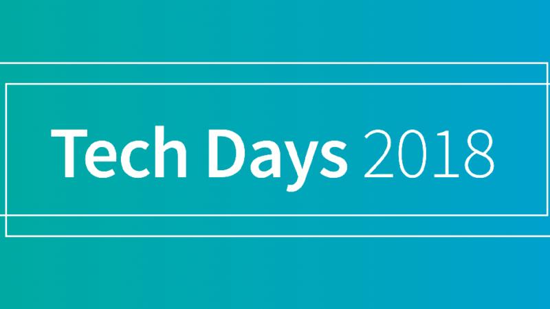 Das waren die TechDays 2018